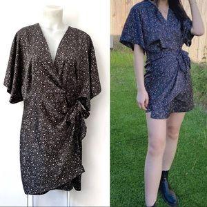 Chelsea28 Wrap Dress V Neck Plus Size 1 NWT